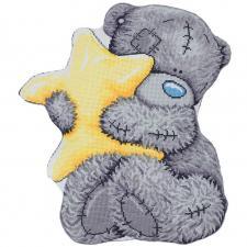 """Подушка """"Tatty Teddy со звездочкой"""". Размер - 36,5 х 41,5 см."""