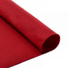 Фетр листовой мягкий IDEAL,20 х 30 см,1 мм,цвет 607 тёмно-красный