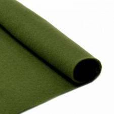 Фетр листовой мягкий IDEAL,20 х 30 см,1 мм,цвет 663 болотный