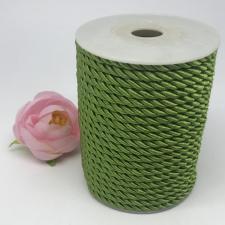 Шнур витой декоративный,5 мм,цвет светло-оливковый (№11)