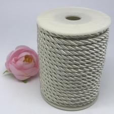 Шнур витой декоративный,5 мм,цвет белый (№14)