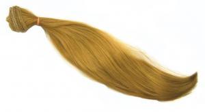 Трессы для кукол (прямые),длина волоса 30 см,длина тресса 50 см (2 шт), цвет (русый)