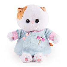 Кошечка Ли-Ли BABY в голубой курточке в китайском стиле, мягкая игрушка BudiBasa