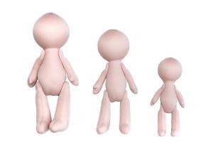 """Заготовка для куклы """"Голыш"""",рост 28 см"""
