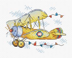 """Набор для вышивания крестиком ТМ """"Жар-Птица"""" """"Очарование полёта"""". Размер - 11 х 8 см."""