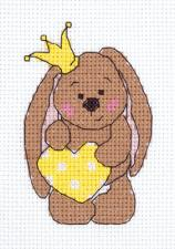 """Набор для вышивания Кларт """"Принцесса"""". Размер - 8,5 х 11,5 см."""