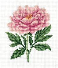 """Набор для вышивания Кларт """"Садовый пион"""". Размер - 12 х 15 см."""