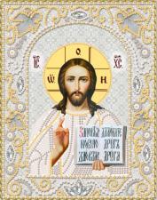 Господь Вседержитель (серебро). Размер - 14 х 18 см.