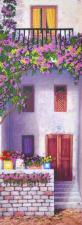 "Набор Olanta (стиль Rococo) ""Цветущий балкон 2"". Размер - 14 х 40 см."