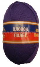 Пряжа Хлопок Полёт. Цвет 060 (фиолетовый)