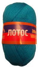 Пряжа Лотос. Цвет 024 (бирюза)
