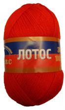 Пряжа Лотос. Цвет 046 (красный)
