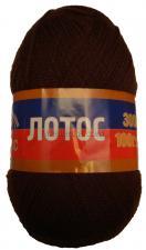 Пряжа Лотос. Цвет 063 (шоколад)