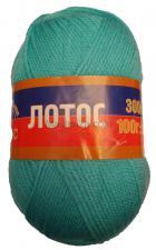Пряжа Лотос. Цвет 023 (св.бирюзовый)
