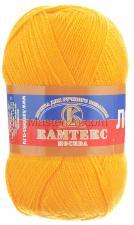 Пряжа Лотос. Цвет 104 (жёлтый)