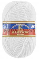 Пряжа Аргентинская шерсть. Цвет 205 (белый)