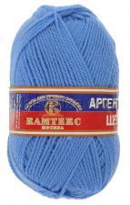 Пряжа Аргентинская шерсть. Цвет 015 (голубой)