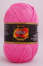 Пряжа Бонди. Цвет 054 (розовый супер)