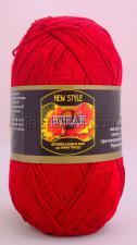 Пряжа Бонди. Цвет 046 (красный)