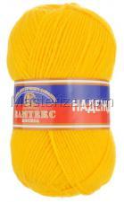Пряжа Надежда. Цвет 104 (жёлтый)