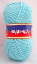 Пряжа Надежда. Цвет 023 (св.бирюзовый)