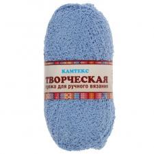 """Пряжа """"Творческая"""" 100% хлопок 270 м/100 г (015 голубой)"""