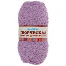 """Пряжа """"Творческая"""" 100% хлопок 270 м/100 г (058 сирень)"""
