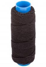 Нитка-резинка (спандекс),25 м,цвет чёрный