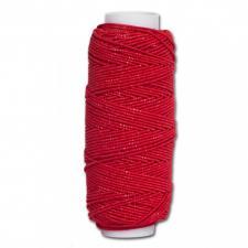 Нитка-резинка (спандекс),25 м,цвет красный
