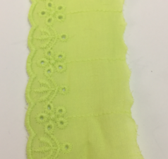 """Кружево """"Шитьё"""",арт.TTR3,45 мм,цвет салатовый"""