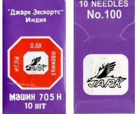 Иглы для бытовых швейных машин 705H,№100,уп.10 шт.