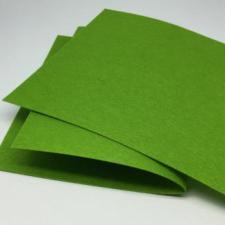 Фетр листовой жёсткий 2 мм,20х30 см,цвет травяной (042)