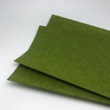 Фетр листовой жёсткий 2 мм,20х30 см,цвет оливковый (048)