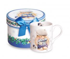 "Кружка BUDI BASA souvenirs ""Зайка Ми с черничкой""."