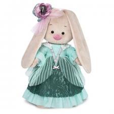 Зайка Ми барышня в персидском зелёном, мягкая игрушка BudiBasa