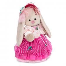 Зайка Ми барышня в карамельно-розовом, мягкая игрушка BudiBasa