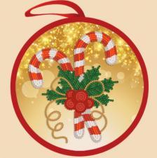 Маричка | Ёлочная игрушка.Рождественская сладость. Размер - 14 х 14 см.