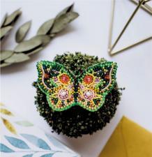 """Набор для вышивки бисером украшения на натуральном художественном холсте """"Настроение-лето"""""""