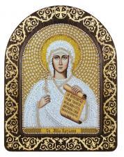 """Набор для вышивания бисером иконы в рамке-киоте """"Св. Мц. Наталия Никомидийская"""""""