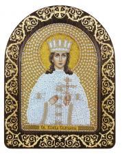 """Набор для вышивания бисером иконы в рамке-киоте """"Св. Вмц. Екатерина Александрийская"""""""
