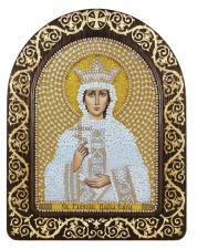 """Набор для вышивания бисером иконы в рамке-киоте """"Св. Равноап. Царица Елена"""""""