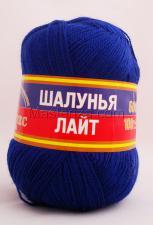 Пряжа Шалунья Лайт. Цвет 019 (василёк)