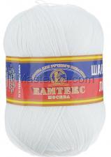 Пряжа Шалунья Лайт. Цвет 205 (белый)