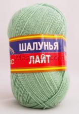 Пряжа Шалунья Лайт. Цвет 045 (зелёное яблоко)