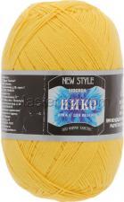 Пряжа Нико. Цвет 104 (жёлтый)