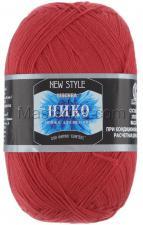 Пряжа Нико. Цвет 046 (красный)