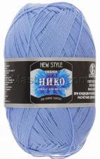 Пряжа Нико. Цвет 015 (голубой)