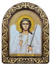 """Набор для вышивания бисером иконы в рамке-киоте """"Ангел Хранитель"""""""