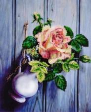 Картины бисером | Розочка. Размер - 28 х 34 см.