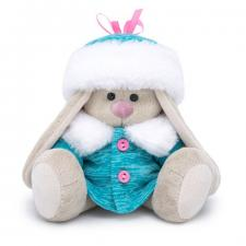 Зайка Ми в пальто с шапкой (Малыш), мягкая игрушка BudiBasa. Размер - 15 см